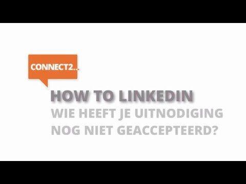 Een #LinkedIn-uitnodiging accepteren is het begin om te netwerken. #DIY #howto