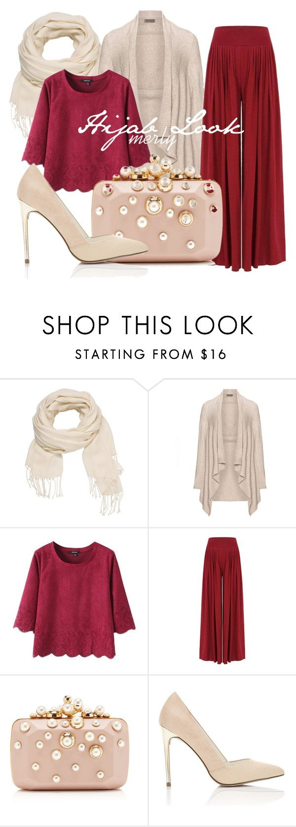 """""""hijab look 064"""" by merlyana-dwi-hapsari on Polyvore featuring maurices, Open End, Elie Saab and Miss Selfridge"""