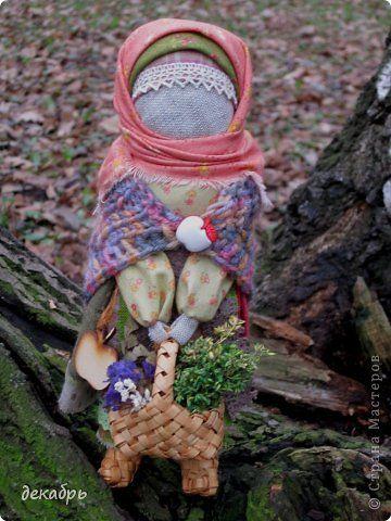 Куклы Шитьё Травница Ткань фото 1