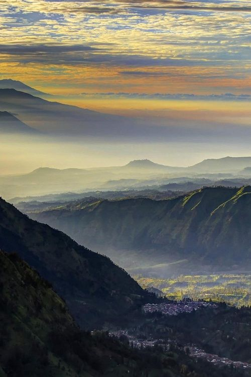 Indonesian sunrise, Bromo Tengger Semeru National Park, East Java, Indonesia | Filippo Bianchi via 500px