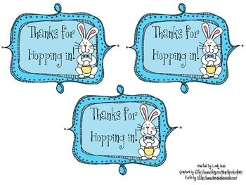 8 best holiday appreciation ideas for volunteers images on use these cute labels on gifts for your volunteers classroom readers or classroom helpers you can attach a easter snack to it for example bunn negle Image collections