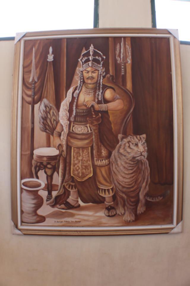 Depiction 'Prabu Siliwangi'