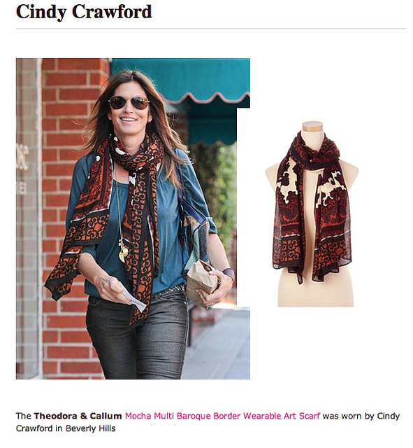 Shop Theodora & Callum's latest designer scarves and jewlery at The Belvedere Shop