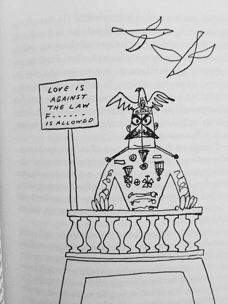ΒΙΛΧΕΛΜ ΡΑΙΧ ((deep quote )) :ΑΚΟΥ ΑΝΘΡΩΠΑΚΟ  love is against the law. Fuck is allowed