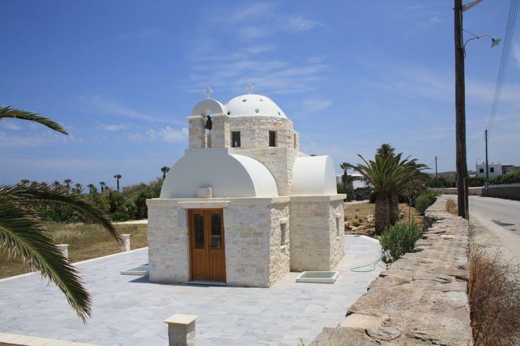 Kerkje ontdekt tijdens wandeling rondom Naousa