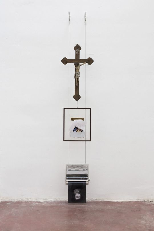 Simon Fujiwara - Gifts returned (reading, believing), from the series Letters from Mexico, 2014