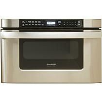 Sharp 24 In. 1000W Insight Pro Microwave Drawer Oven in Stainless Steel