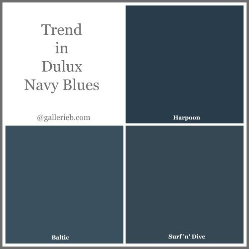 What's Trending In Dulux Paint Colours: Gallerie B
