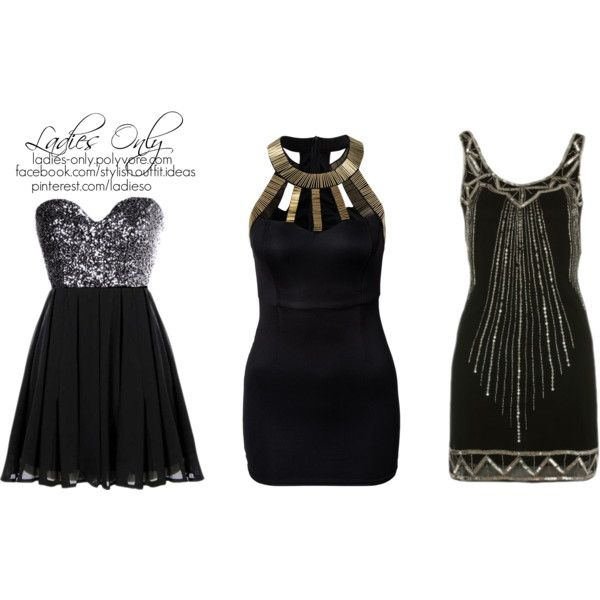 """little black dress"" by ladies-only on Polyvore"