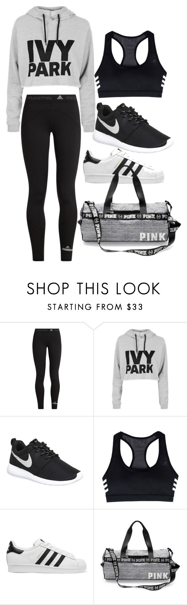 """dance"" by daylightshimmer ❤ liked on Polyvore featuring adidas, Topshop, NIKE and adidas Originals"
