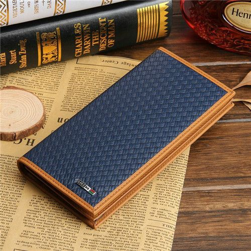 New arrival Genuine leather Men long wallet, fashion style male large capacity