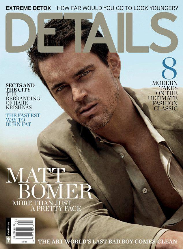 details matt bomer cover photo Matt Bomer Covers Details May Issue, Talks The Normal Heart