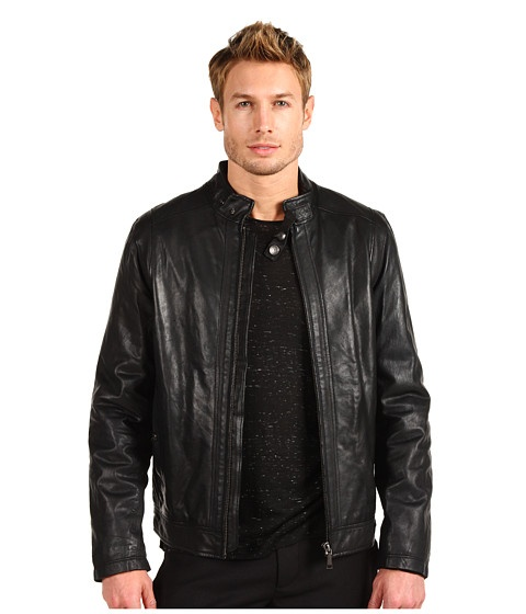 Versace Jeans Leather Jacket - Jachete - Imbracaminte - Barbati - Magazin Online Imbracaminte