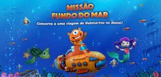 Promoção Missão Fundo do Mar no Dia das Crianças da PBKIDS