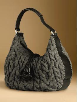 BananaRepublic.com: shoes & handbags: view all handbags: :Knit extra-large slouchy bag