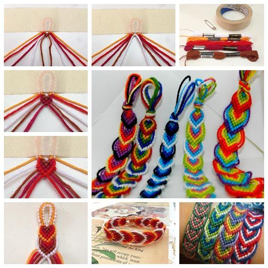 DIY Leaves Friendship Bracelet--> http://wonderfuldiy.com/wonderful-diy-leaves-friendship-bracelet/ #diy #craft #bracelet