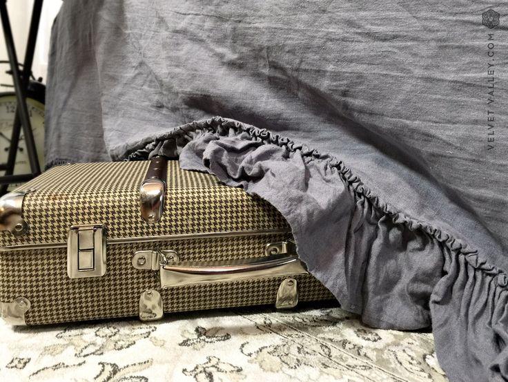Gonna di biancheria da letto con ruches-addolcita lino mantovana-Vintage look copriletto biancheria di stile francese biancheria da letto gonna-addolcita di VelvetValley su Etsy https://www.etsy.com/it/listing/508714225/gonna-di-biancheria-da-letto-con-ruches