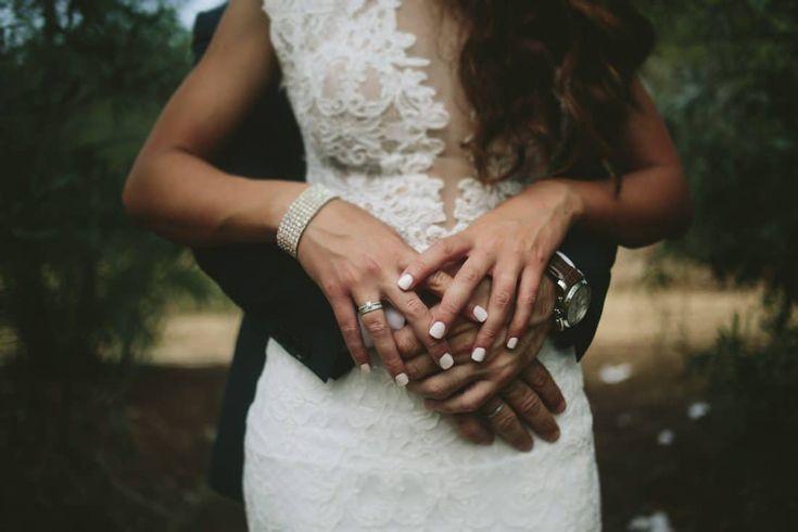 Ένας rustic γάμος στην Κύπρο