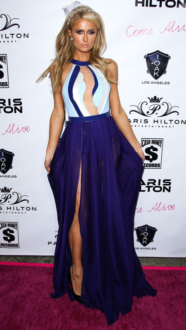 Paris Hilton arrives at Paris Hilton's New Single 'Come Alive' Release Party held at 1OAK in West Hollywood
