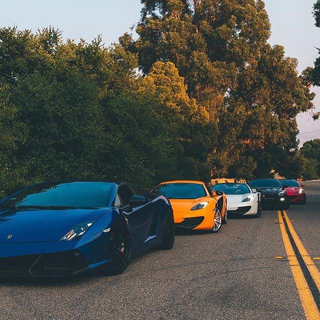Pick Your Poison Lamborghini Ferrari Lambo Carlifestyle Doorsup Sf Bayarea Carsandcoffee Gtr35 Gtr Blacklist Gtr 35 Fast Cars Cars And Coffee