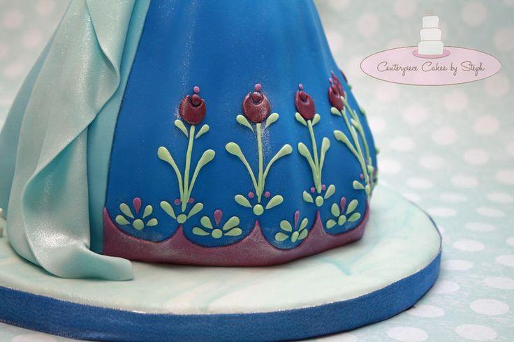 Elsa Doll Cake Decorations : Elsa & Ana Double Doll Cake Disney Frozen Birthday Ideas ...
