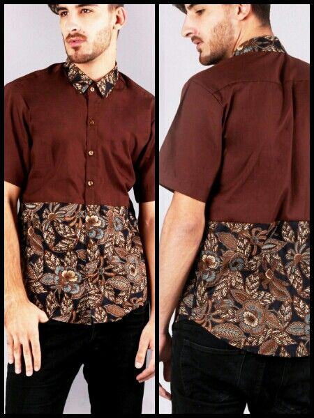 Mavazi outfit - Javanese Batik pattern for resort wear