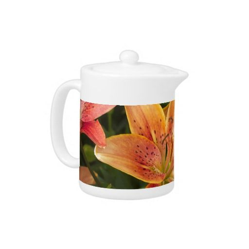 Garden Lilies Teapot