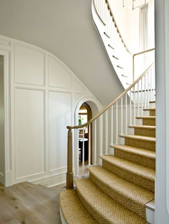Natural carpet - perfect for the stairs! http://www.carpets-direct.co.uk/Natural-Carpets-1