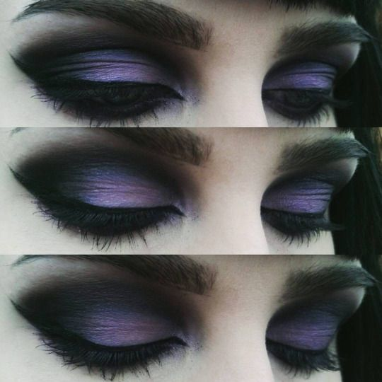 Dark Gothic eye work