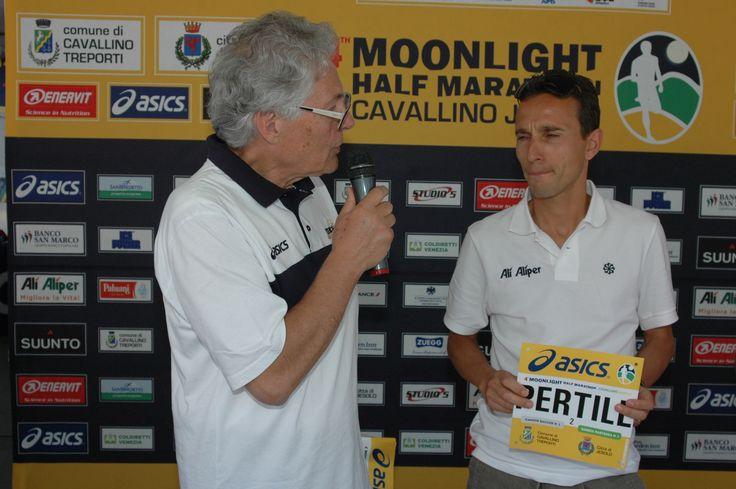Presentazione di Ruggero Pertile Top Runner alla Moonlight 2014