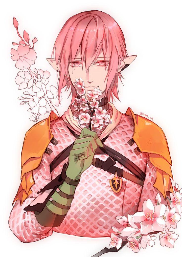 Sakura Haurchefant by tksnim