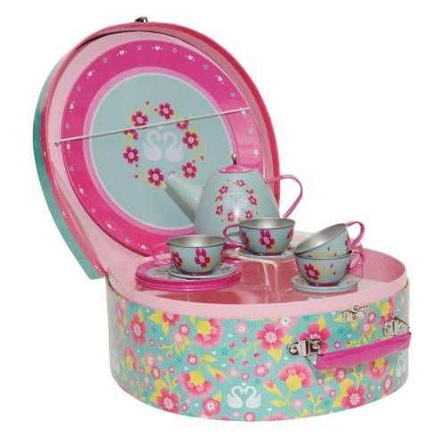Tiger Tribe Oriental Blossom Tea Set - Home & Gifts Gifts & Toys - Adairs Kids online