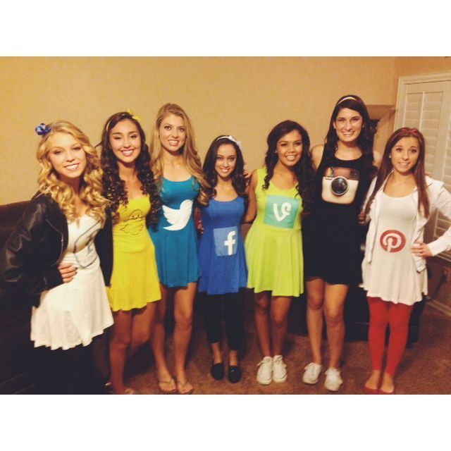 social media Halloween costumes: