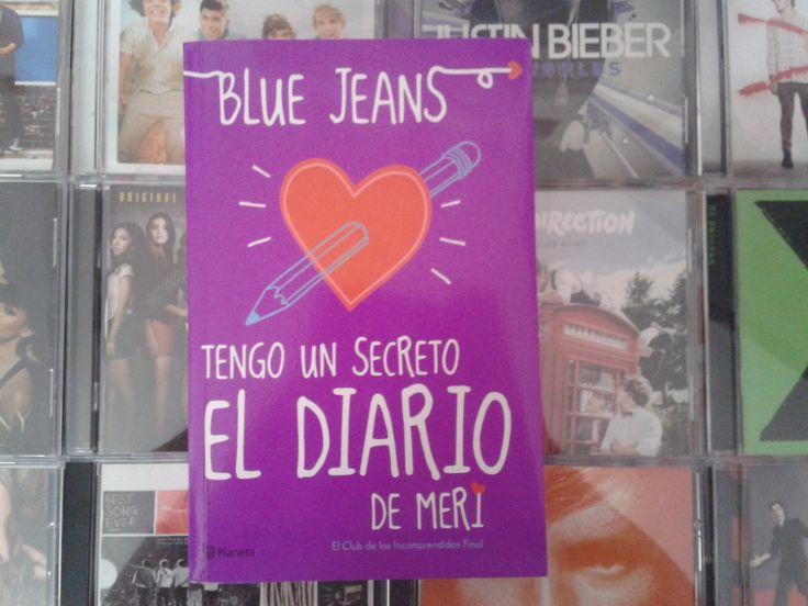 """""""Tengo un secreto: El diario de Meri"""" escrito por Blue Jeans:"""