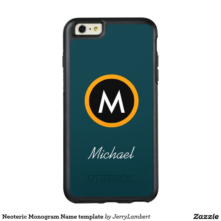 Neoteric Monogram Name template OtterBox iPhone 6/6s Plus Case