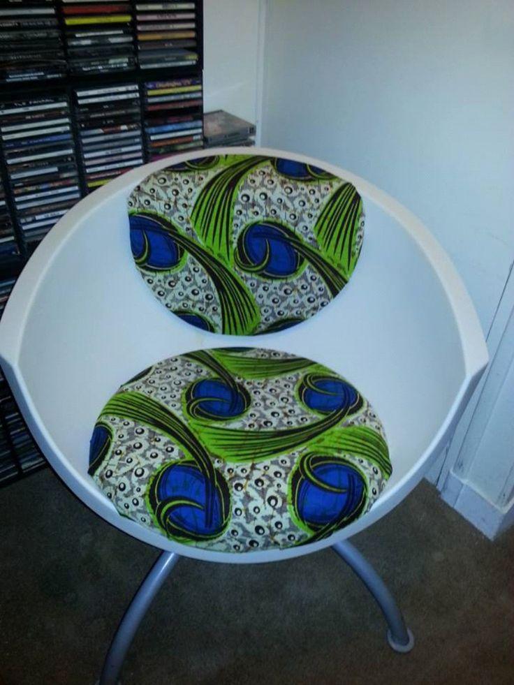 Kitenge chair!