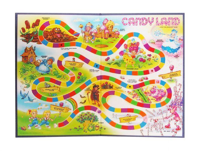 Candyland Game Board Printable