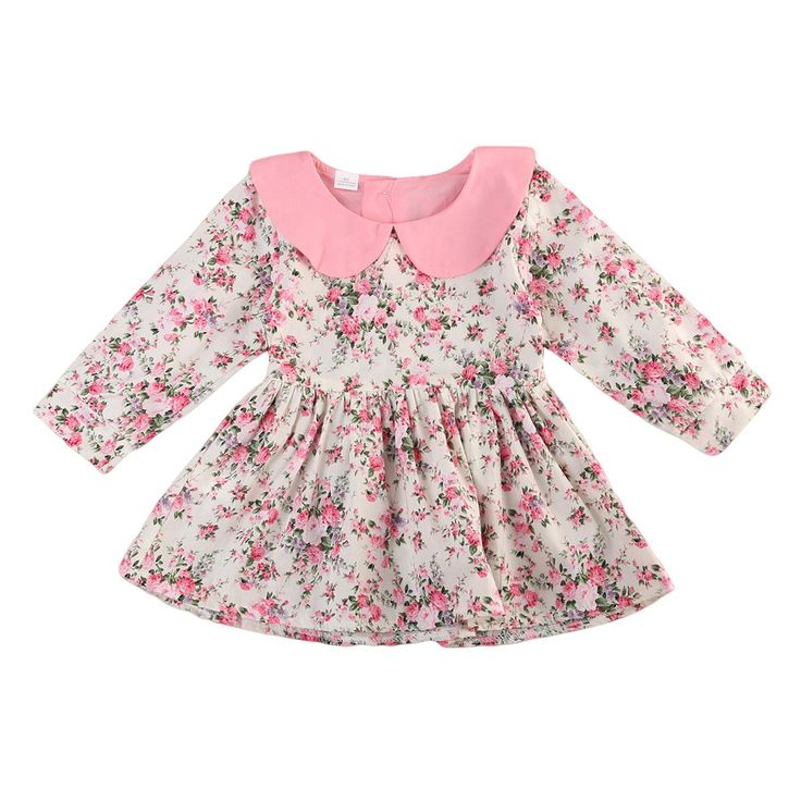 Pink Tea Party Collar Dress Buy it today from www.presentbaby.com  We sell a wide array of baby clothing, socks, shoes, bottles, blankets and more. For more information visit our website today.  #outfits #socks #toddler #winter #girl #bottles #romper #clothing #gender #summer #onesies #sterilizers #boy #funny #neutral