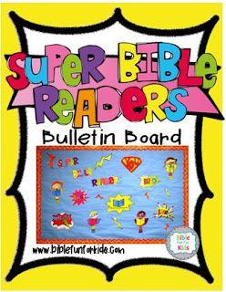Bible Fun For Kids: Super Bible Readers Bulletin Board