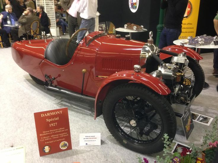 1927 Darmont Morgan 3 Wheelers at Rétromobile - Talk Morgan Sports Cars | Morgan Three Wheeler, EvaGT, Morgan 4/4 Sport, Morgan Roadster, Morgan Aero 8, Morgan Plus 4, Classic Morgan sports cars | News, Discussion and Information