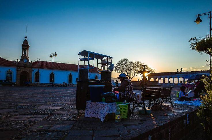 From dusk till dawn. . . Ive been in Sucre for almost a month now. This week Ill move on to Potosí and then to Cochabamba but its not easy. After a while you get used to a place the people and it starts to feel like a home away from home. . . . . #travelphotography #travel #dusk #wanderlust #travelgram #instagood #explore #instatravel #mood #sunset #ricohgr2 #ricoh #bolivia #sucre #solotravel #backpacking #goldenhour #plaza