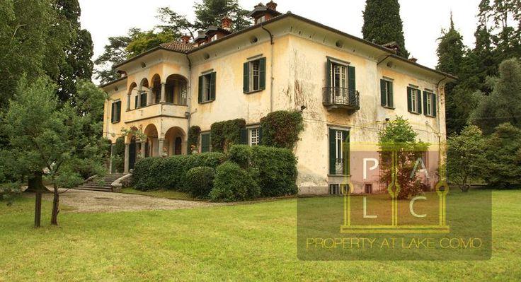 #LuxuryVillaSale in #Menaggio area of Lake Como, Italy. View all details here:- http://www.villaatlakecomo.com/villadetails/villa-berta