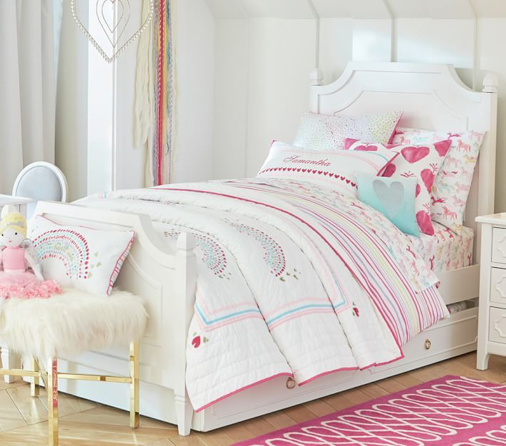 bedroom ideas on pinterest tufted bed pottery barn kids and room