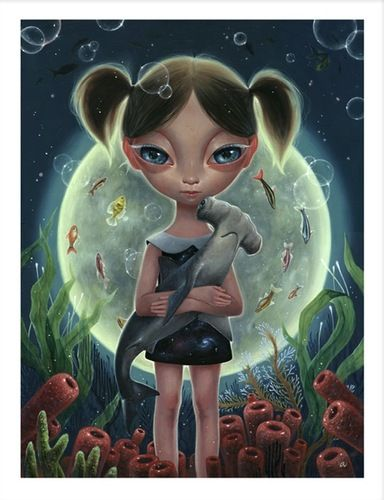 Undersean Moon by Ana Bagayan