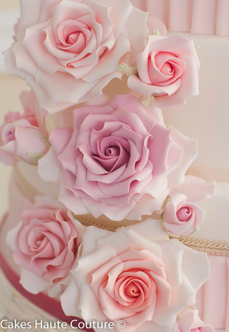 Sugar roses / Rosas de azúcar