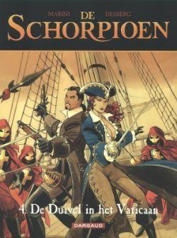 De duivel van het Vaticaan stripverhaal (De schorpioen 4, Marini, Desberg) bestellen - stripboeken kopen bij Stripweb!