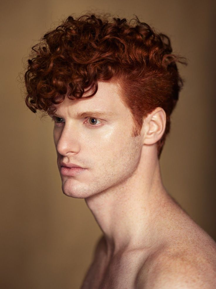 Marc Goldfinger=hot guys with curly hair