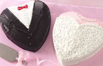 Very cute idea but I would use an aluminum heart pan instead of foil