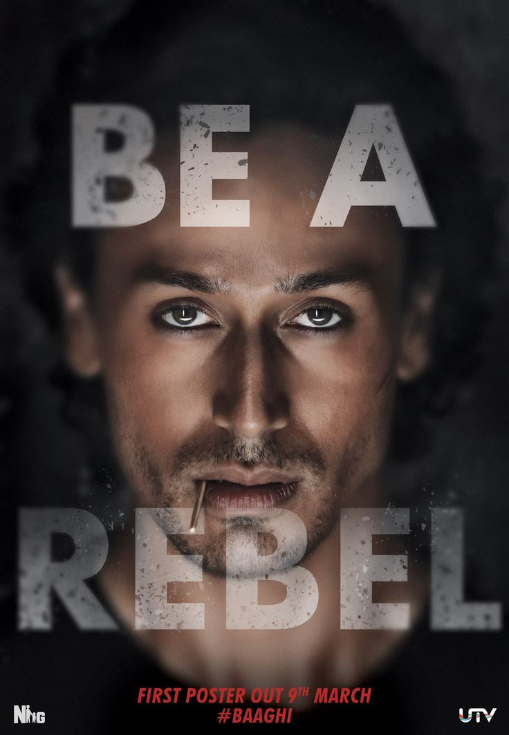 Tiger Shroff as #Baaghi