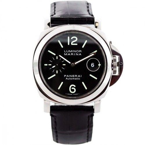 Panerai Luminor Marina PAM00104 Stainless Steel Mens Watch